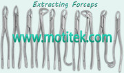 Extracting Forcep,  Upper Centrals and Canins,