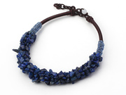 FASHION LAIPS BEADED NECKLACE