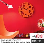 Buy Kitchen Clocks @ justfordecor.com - Your Online Home&Decor Store
