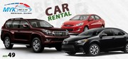 Cheap Car Rental Dubai - MYK - Rent a Car
