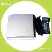 8dbi UHF polarized antenna support Mid-range UHF reader