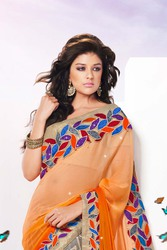 Bridal wear designer sarees.