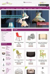 Home Decor Shop Website Design Software
