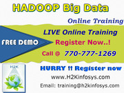 Hadoop Online Training Classes and Job Assistance