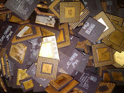 ceramic cpu gold scrap / ac and frdige compressor scrap