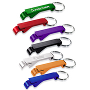 Promotional Aluminium Bottle And Can Opener Keyring Wholesale Supplier