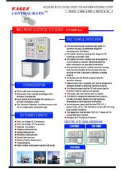 Eagle Control-Matic - ECM 3100WM Electrical Test Bench