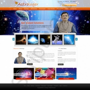 Affordable,  Ready-made Astrologer Website