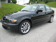 2004 BMW 330XI Black sedan auto 44k miles